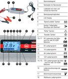 Volautomatische 11-staps acculader met 4A laadstroom